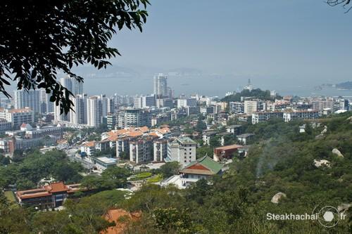 Xiamen, vue d'en haut